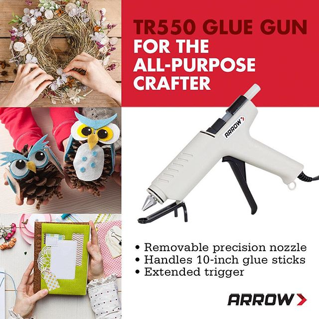 Are you an All-Purpose #Crafter? Meet our All-Purpose Glue Gun. This heavy-duty works well for both and pro applications. Features include a self-limiting heat chamber, extended trigger, removable precision nozzle, integrated dual purpose drip tray and a handy retractable stand. Plus, it can handle 10-inch glue sticks. Click on the link in our profile to take a closer look.