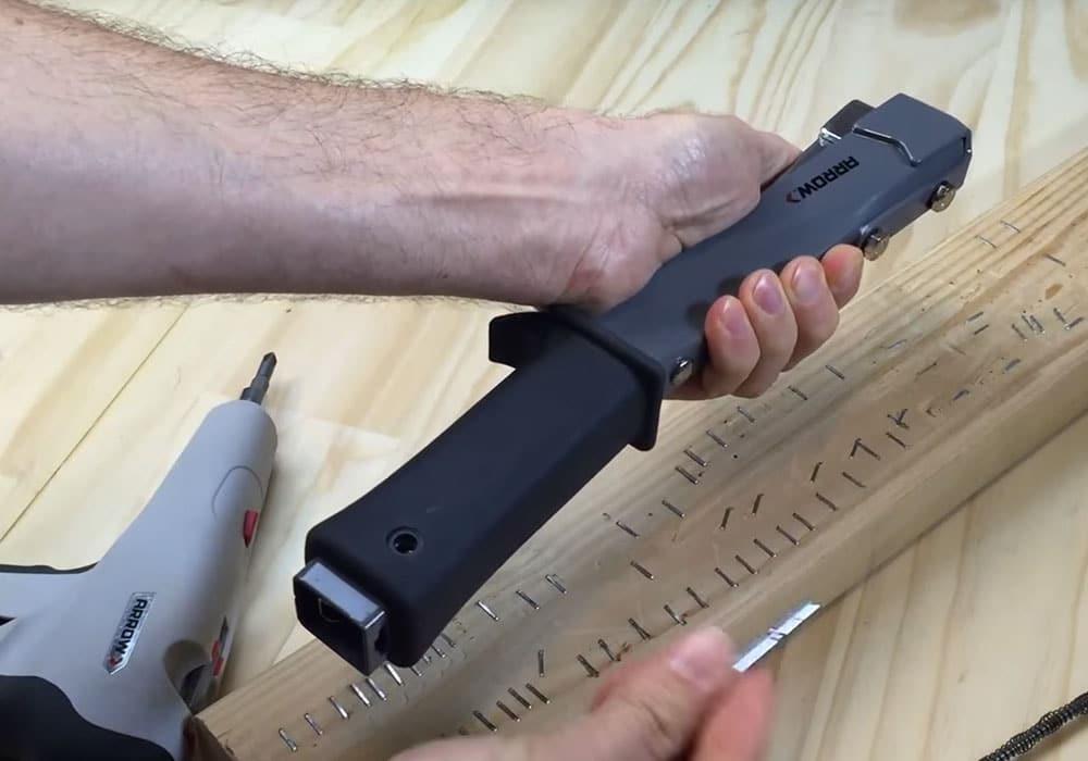 Unjam Arrow's HT55 Slim Hammer Tacker