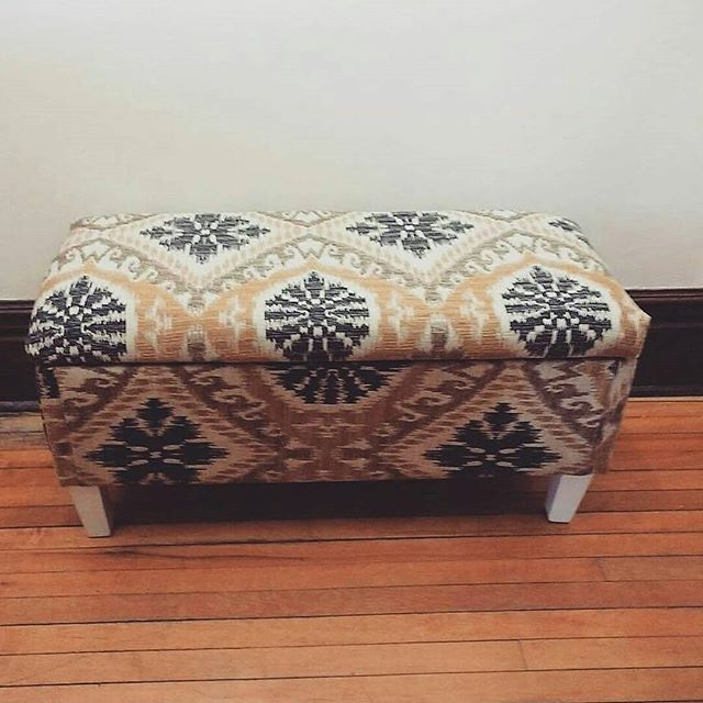 Weekend reupholstery project