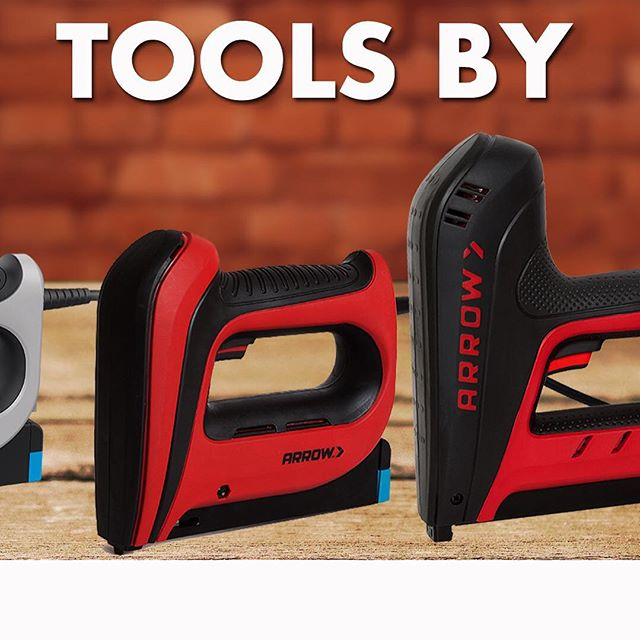 For DIYers, there's the Compact Electric T50ACD-R, which shoot staples up to ½-inch. For professionals or heavy-duty home improvers, there's the Professional Electric T50AC-R Staple Gun & Nailer, which shoot staples up to 17/32-inch, as well as 9/16-inch and 5/8-inch brad nails. These two tools are available exclusively at The Home Depot.