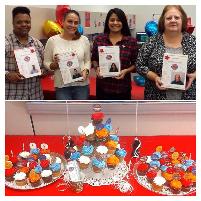ARROW LOVE: Our recent celebration of National Customer Service Week, which meant lots of games, activities and yummy food. We also gave major props to our customer service team who is on the front lines helping Arrow fans like you. Qiana, VonMari,  Yocelyn and Liz troubleshoot with our customers on a daily basis, and we love them for it. Keep up the good work!