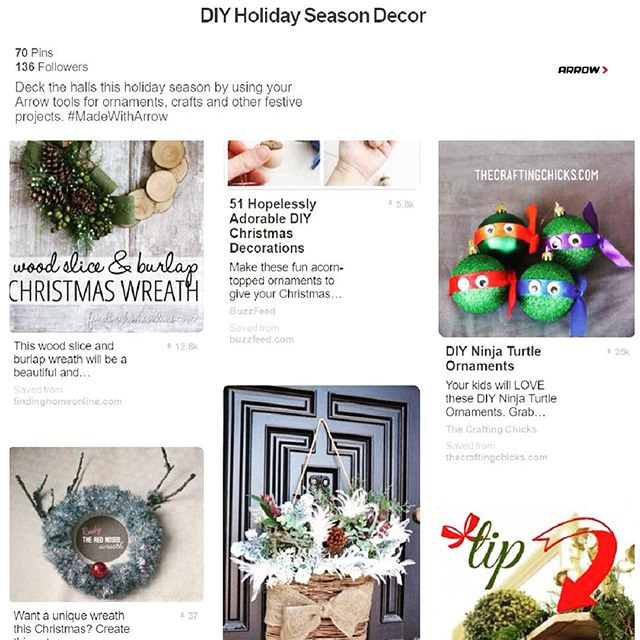 It's that time again!!! Find wreaths, decoration and all-around awesome crafts and DIY projects to suit your fancy by clicking the link in our profile. What projects are you most excited about this season?