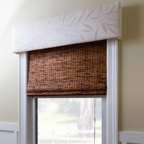 Who knew windows could look so good? Link to this window cornice project in our bio.