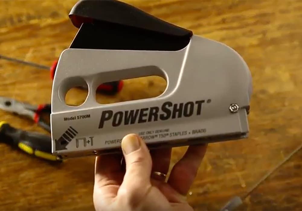 Unjam Powershot 5700 Staple Gun