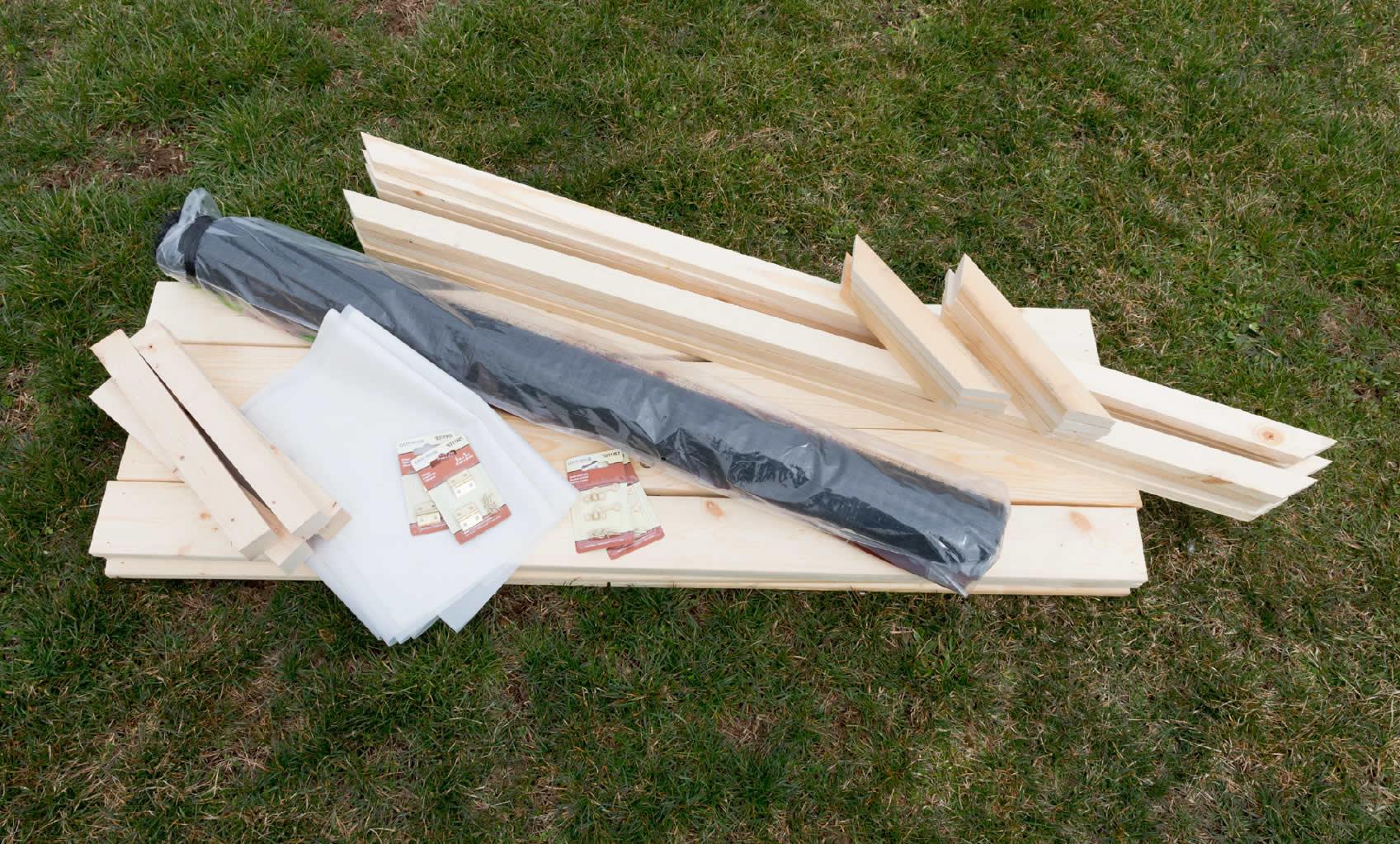Arrow Raised Garden Bed Project Supplies