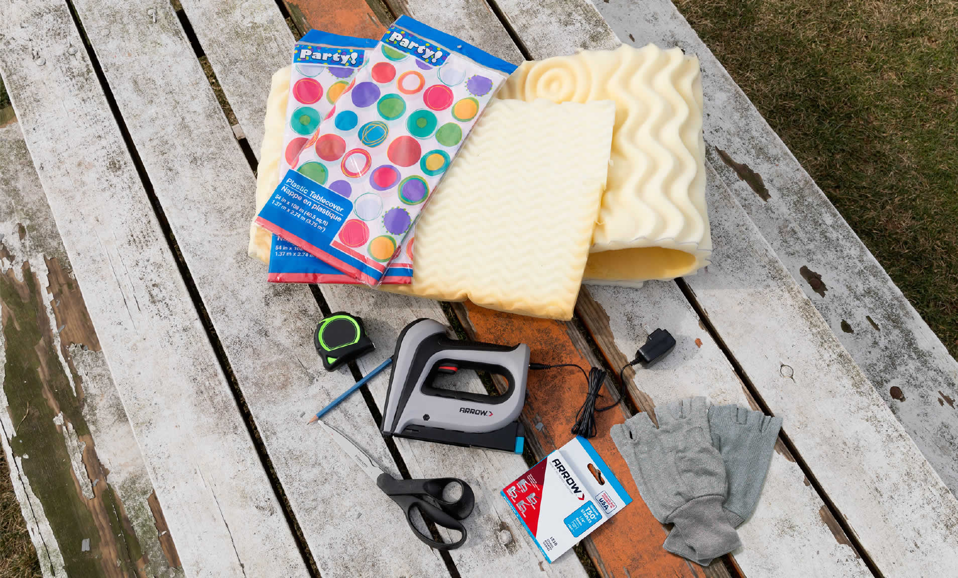 picnic-table-cushion-arrow-project-tools-supplies