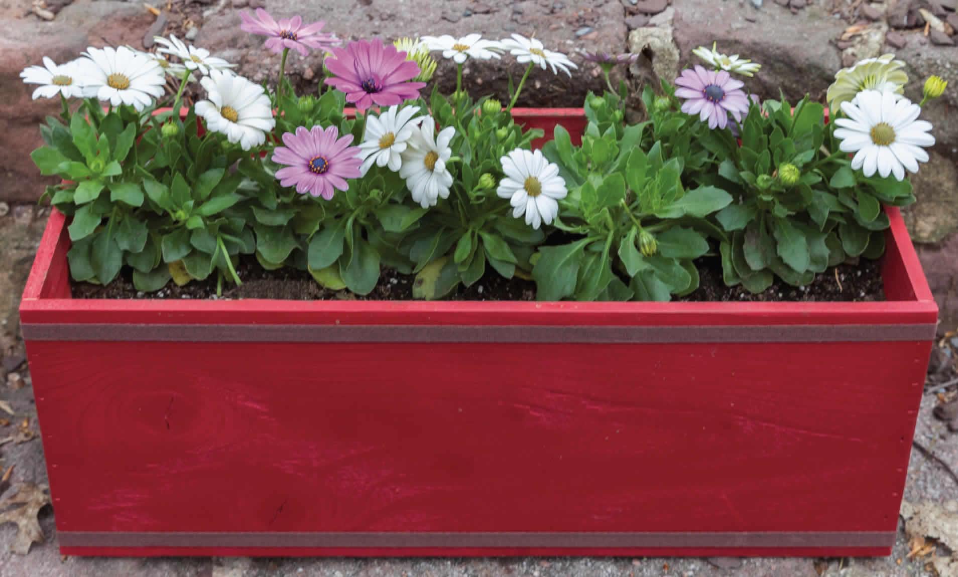 Outdoor Flower Box