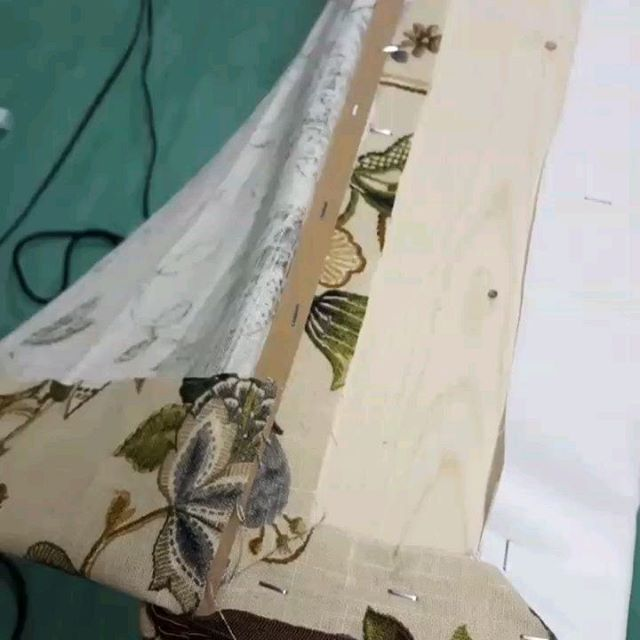 Thats a wrap! Next time you see this cornice board it will be up on the wall, but here are some sneak peeks! @dac020613