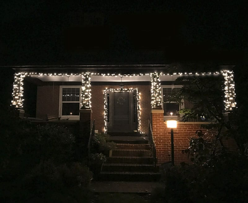 finished product wed love to see how your outdoor holiday lights