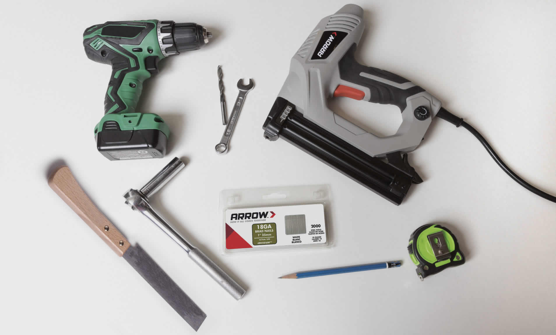 Collection of Arrow Fastener tools