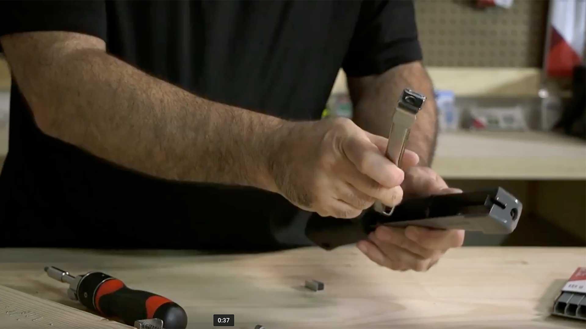 HT55 Professional Hammer Tacker