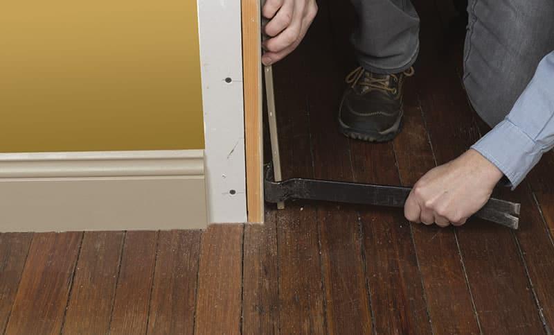 ... Door Trim Repair Arrow Project Step5d