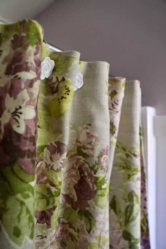 Create a No-Sew Shower Curtain